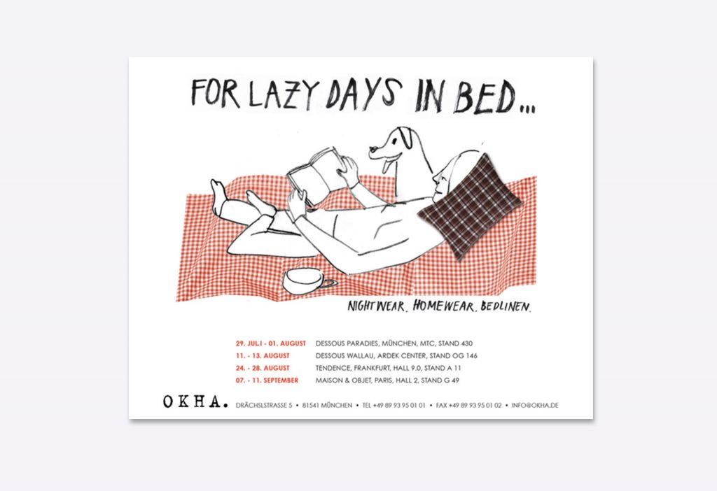Sunday In Bed Print Ads Lea Becker